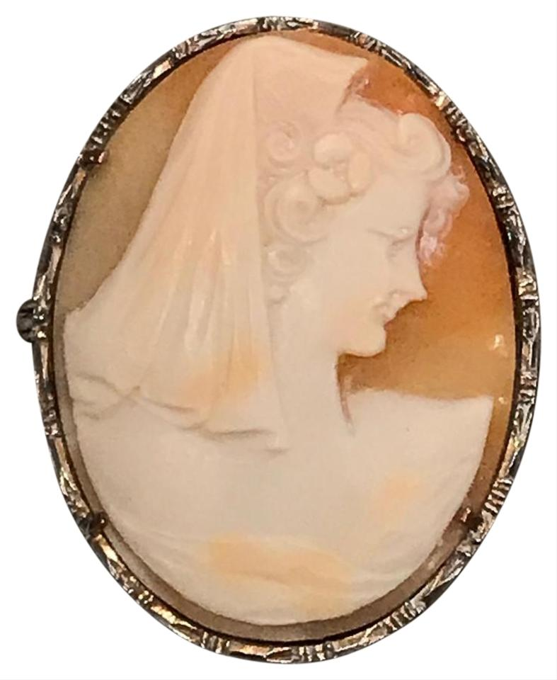 Ivory cream peach pink silver antique victorian carved cameo brooch vintage antique victorian carved cameo brooch pin pendant silver frame aloadofball Choice Image