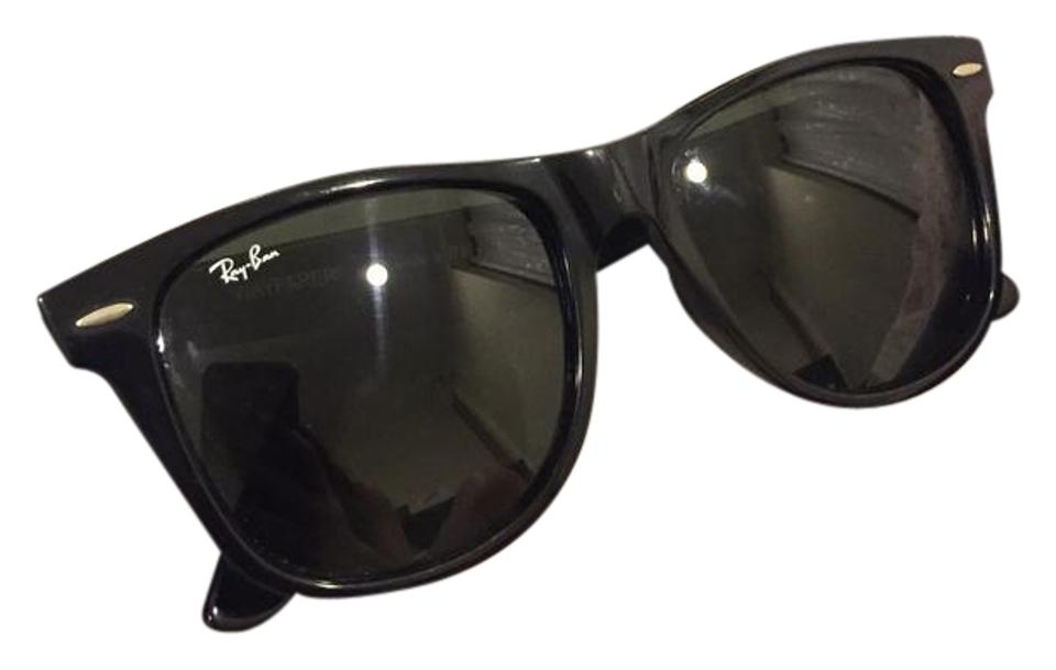 9724b061ea Ray-Ban Black Wayfarer - Rb 2140 901 54-18 Free Shipping Sunglasses ...