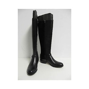 Via Spiga Kacey Black Leather Blacks Boots
