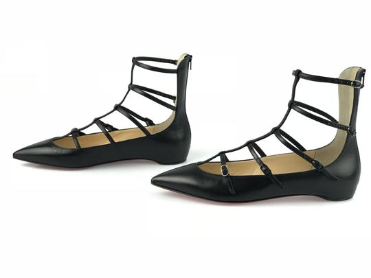 Christian Louboutin Toerless Classic Black Sandals