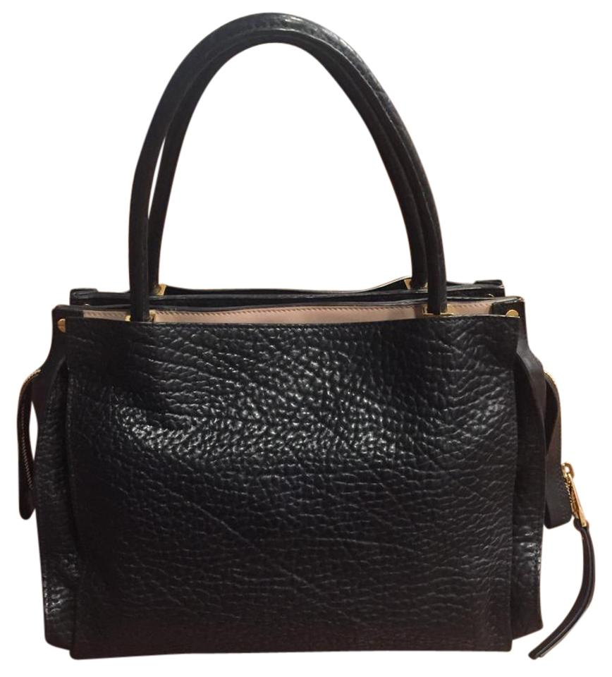 Satchel Leather Chloé Leather Chloé Black Black ZOvXw4