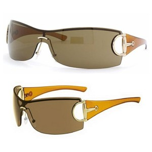 b149105bb0668 Gucci Gucci Brown Horsebit Shield Women Sunglasses GG2783 Italy