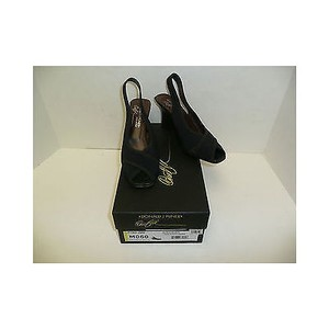 Donald J. Pliner Womens J Tyna Blacks Platforms