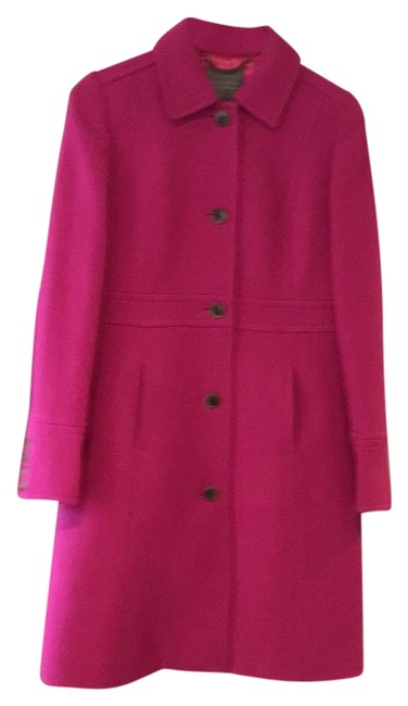 Item - Pink Double Cloth Lady Day Coat Size 6 (S)