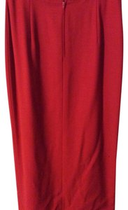 Genny Maxi Skirt Red