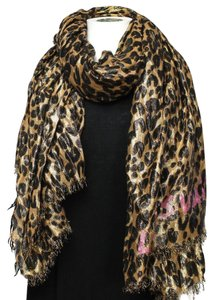 3bfbc2b06ca36 Louis Vuitton Leopard Scarves - Up to 70% off at Tradesy