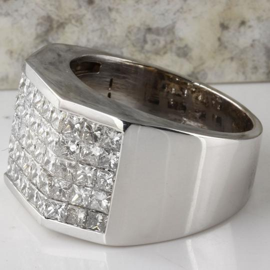Other HEAVY 5.65Ct Natural Diamond 14K Solid White Gold Men's Ring Image 1