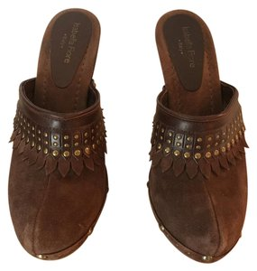 Isabella Fiore Brown Mules