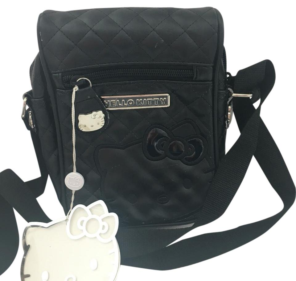 Hello Kitty Sanrio Black Polyurethane Cross Body Bag - Tradesy b2fba78805d9f