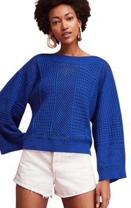 23fc5e9152 Anthropologie Reese Kimono Pullover Sweater By Moth S Blue Sweater ...