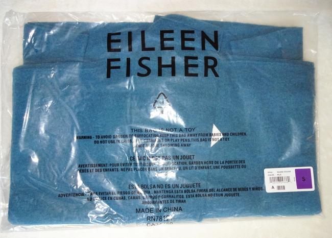Eileen Fisher Unstructured Optional Pin Closure Front Patch Pockets Shawl Collar Dropped Shoulders Cardigan Image 7