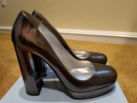 Prada Metallic Pumps Image 2