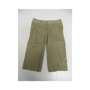 LaROK Womens Khaki Long Shorts Capri/Cropped Pants Beiges