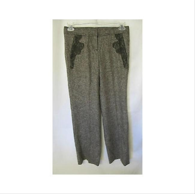 RED Valentino Womens Valentino Wool Slacks Pants