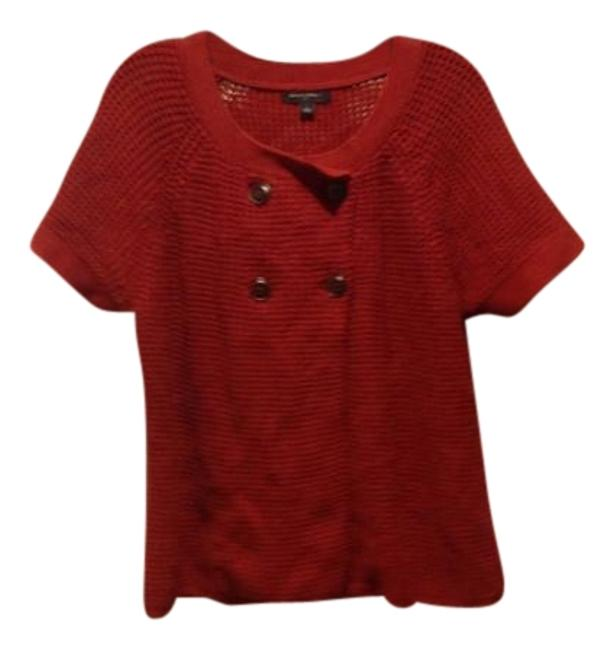 Preload https://img-static.tradesy.com/item/22312502/banana-republic-paprika-short-sleeve-like-new-sweaterpullover-size-12-l-0-1-650-650.jpg