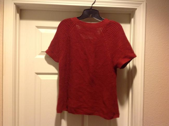 Banana Republic Color Short Sleeev Super Versatile. Sweater Image 2