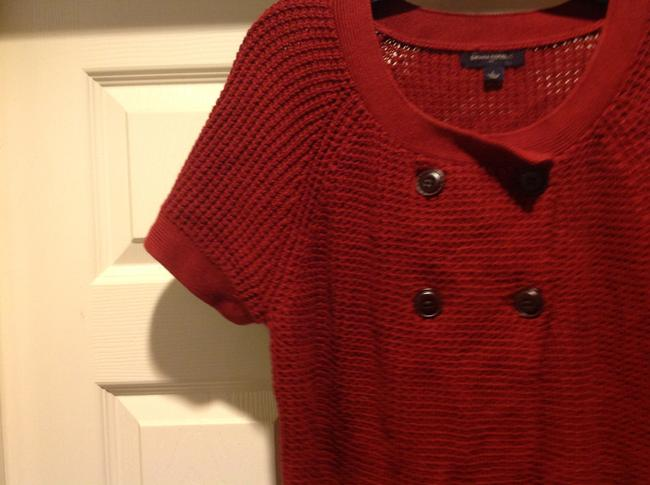 Banana Republic Color Short Sleeev Super Versatile. Sweater Image 3