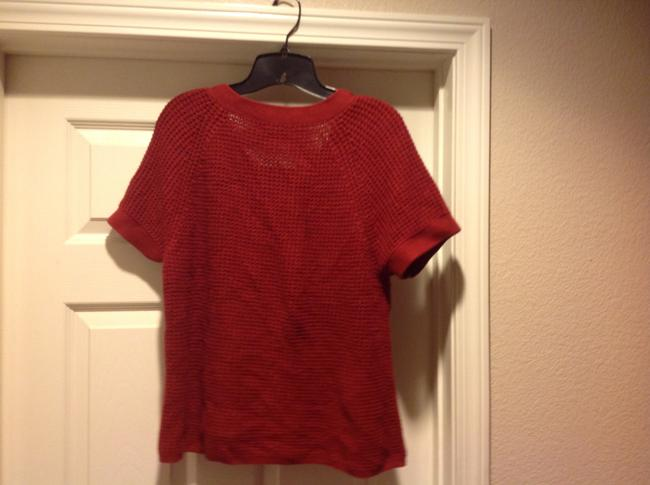 Banana Republic Color Short Sleeev Super Versatile. Sweater Image 5