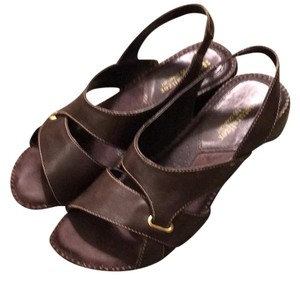 Naturalizer Leather Comfortable Brown Sandals