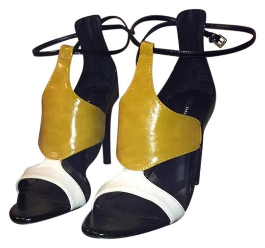 Preload https://img-static.tradesy.com/item/22313138/black-and-yellow-don-t-know-sandals-size-us-65-regular-m-b-0-1-540-540.jpg