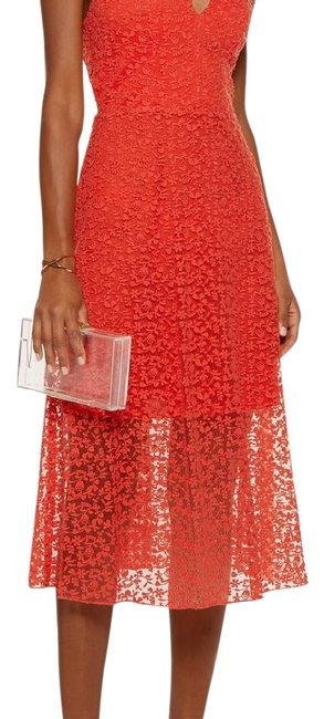 Item - Red Noreen Mid-length Night Out Dress Size 10 (M)