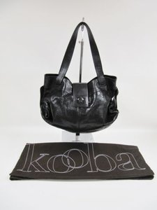 Kooba Snakeskin Leather Handbag Hobo Bag