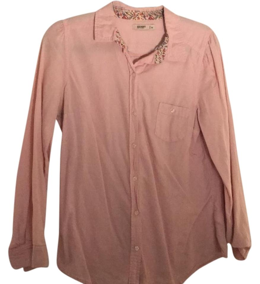 ae452fc1c7 Old Navy Pink Na Button-down Top Size 10 (M) - Tradesy