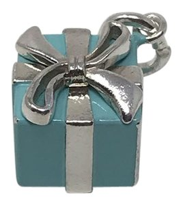 Tiffany & Co. Tiffany & Co. Blue Enamel Gift Box Charm/Pendent