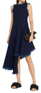 MARQUES'ALMEIDA short dress Blue denim on Tradesy