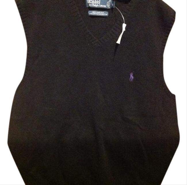 Item - Black By Lamb Wool Vest Size 12 (L)
