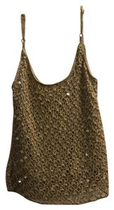 Carmen Marc Valvo short dress GOLD Sequin Night Out Mini Glamour Party on Tradesy