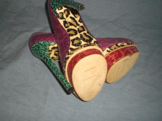 Brian Atwood multicolor Pumps Image 4