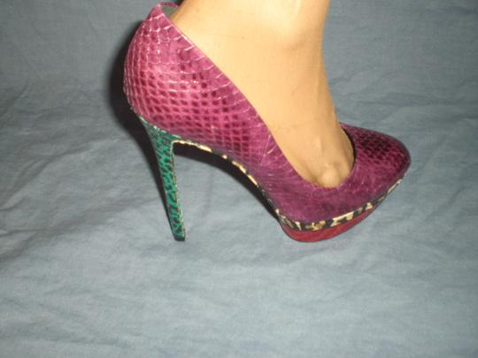 Brian Atwood multicolor Pumps Image 5