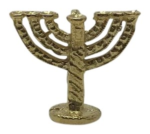 Other 18k Yellow Gold Menorah Charm/Pendent