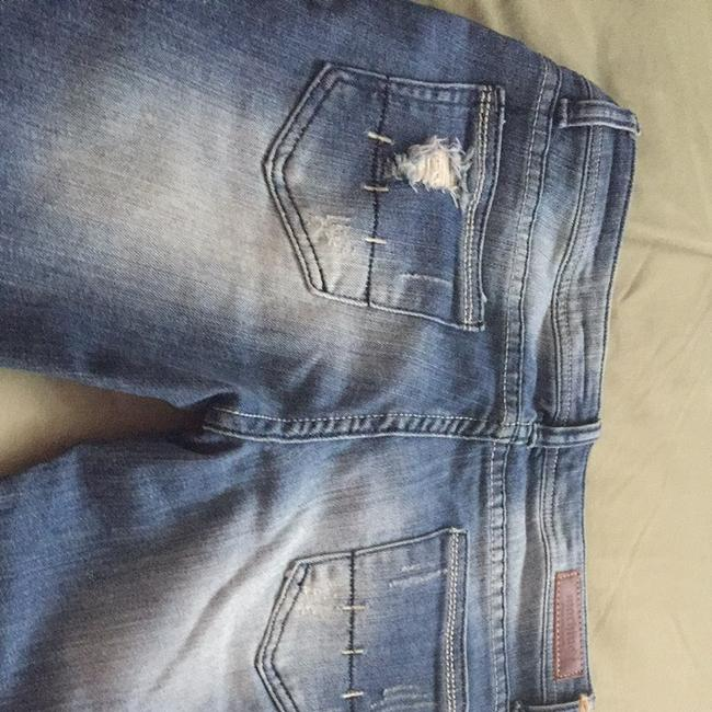 Pour neuf mode Skinny Jeans-Distressed