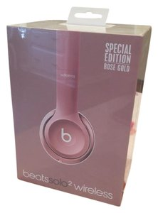 Beats By Dre Rose Gold Beats2 wireless