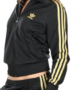 buy black and gold adidas tracksuit