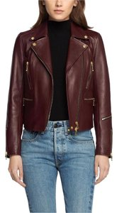Rag & Bone Burgundy Jacket