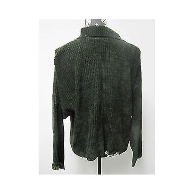 Other Relais Chenille Forest Button Front Os Sweater