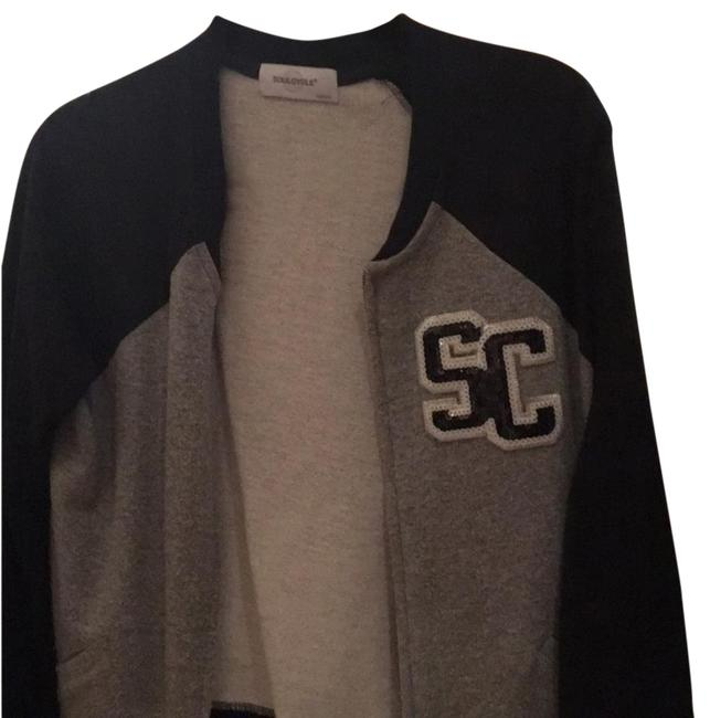 Preload https://img-static.tradesy.com/item/22315819/soulcycle-grey-and-black-with-sparkly-letters-varsity-style-thick-cotton-activewear-outerwear-size-8-0-1-650-650.jpg