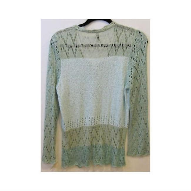 Ball of Cotton Light Open Knit Caridgan Os Sweater