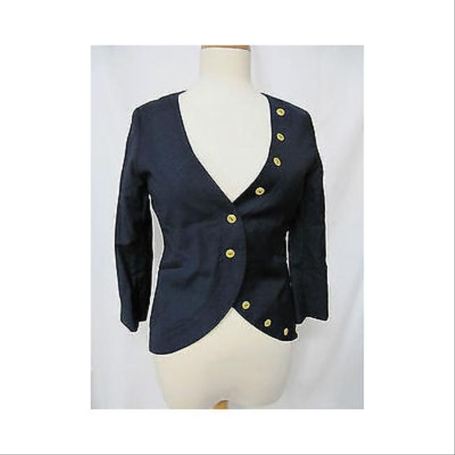 Other Womens Tallulah Navy 34 Sleeve Military Military Jacket