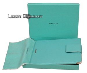 Tiffany & Co. Tiffany & Co. New Blue Leather iPad/ Tablet Cover