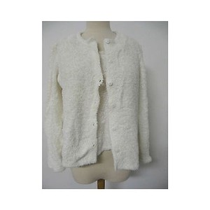 Oscar de la Renta Womens Piece Cardigan Tank Set Sweater