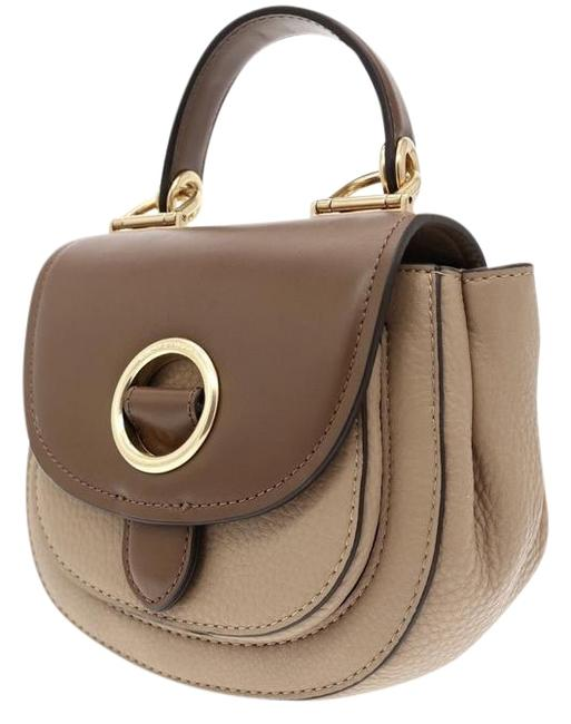 Michael Kors Collection Messenger Isadore New Brown Leather Cross Body Bag Michael Kors Collection Messenger Isadore New Brown Leather Cross Body Bag Image 1