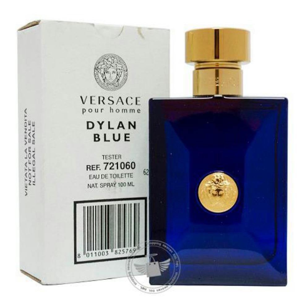 Versace Dylan Blue Pour Homme By Versace-edt-3.4 Oz-100 Ml-boxed ... 6189b1e1670