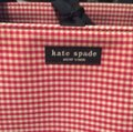Kate Spade red and white gingham. Diaper Bag Image 1