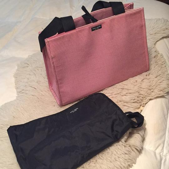 Kate Spade red and white gingham. Diaper Bag Image 2
