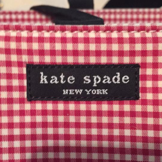 Kate Spade red and white gingham. Diaper Bag Image 5