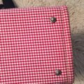 Kate Spade red and white gingham. Diaper Bag Image 6